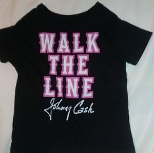 Johnny Cash Toodler Shirt